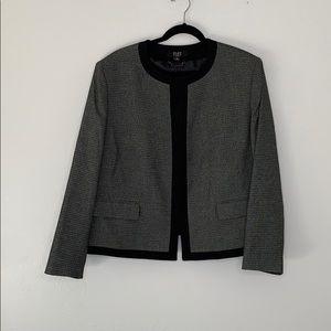 Alex Marie suit jacket gray black 18W